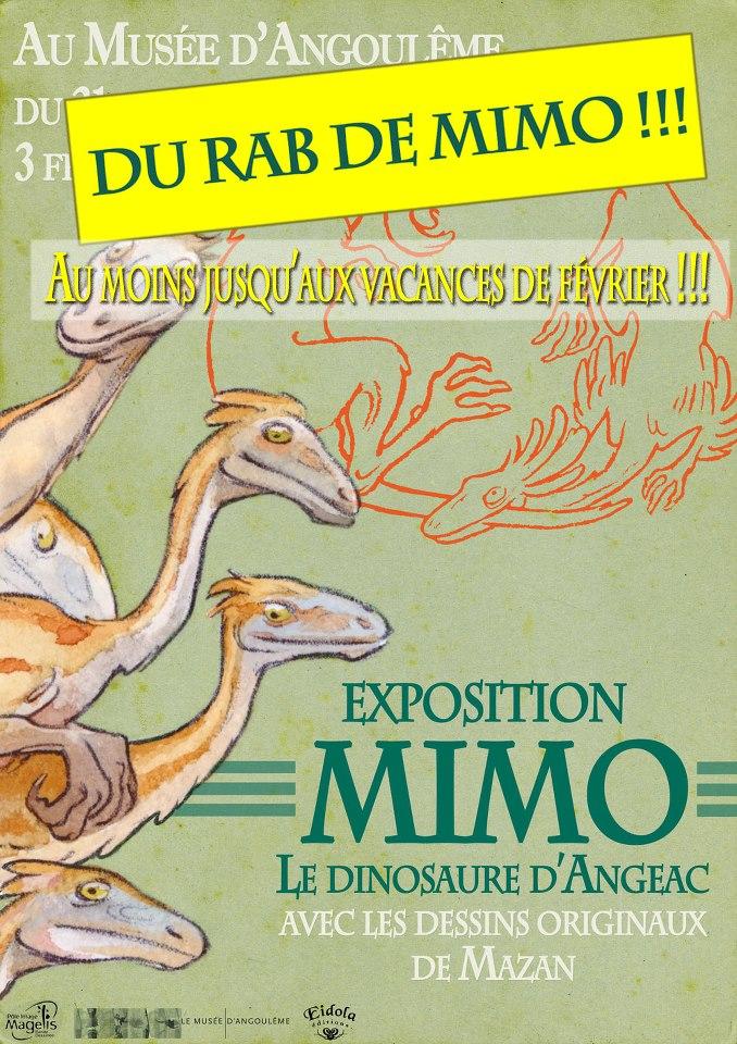 Prolongement de l'expo MIMO