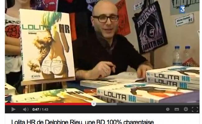 Lolita HR T3 sur France 3