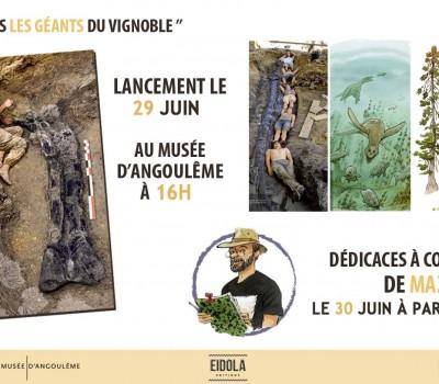 Lancement de l'ouvrage «Dinosaures, les géants du vignoble»