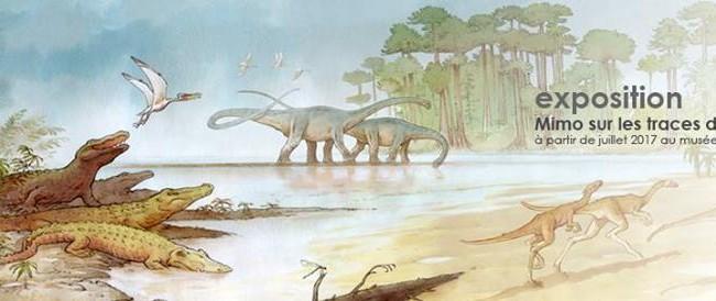 Exposition «Mimo sur la trace de dinosaures»