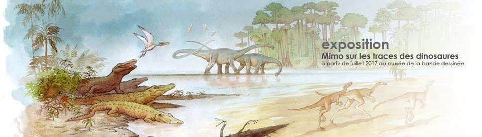 Mimo dur la trace des dinosaures