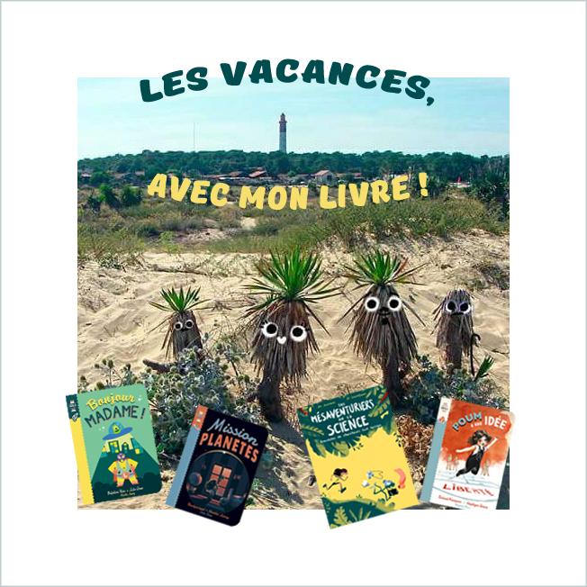 N'oubliez pas vos livres Eidola en vacances !