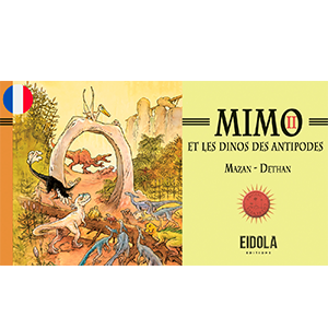 Mimo et les dinos des antipodes II – Webtoon