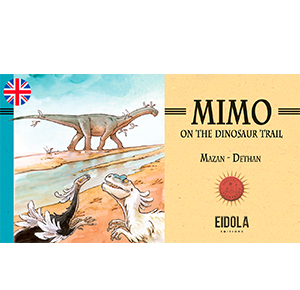 Mimo on the dinosaur trail – Webtoon
