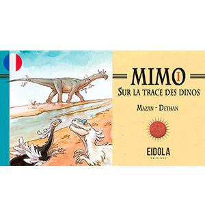 Mimo sur la trace des dinos – Webtoon