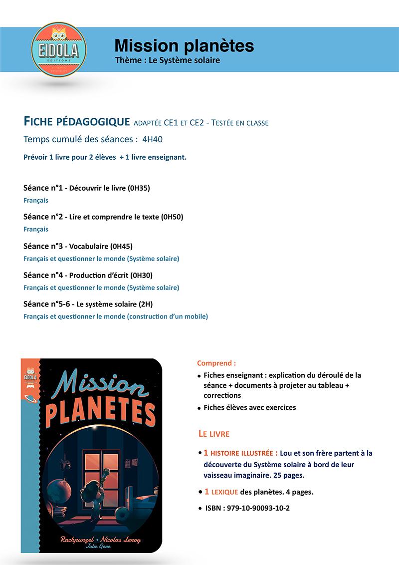 Mission planètes- 0