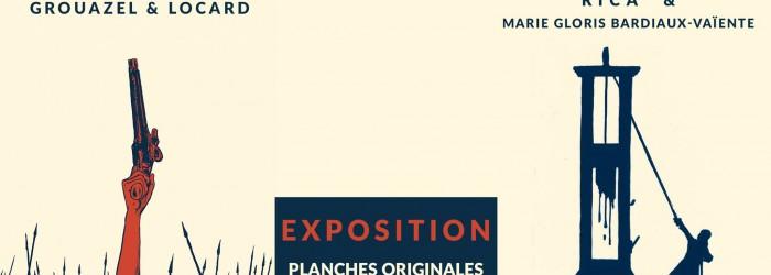Expo «La guillotine» et «Révolution» – FIBD 2020